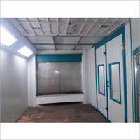 Fully Closed Water Curtain Spray Painting Booth