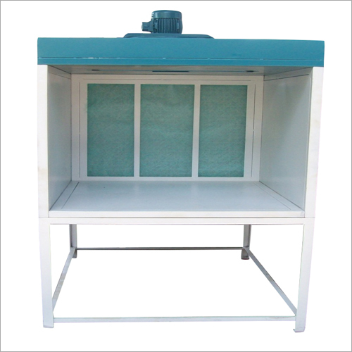 Dry Type Front Open Small Size Industrial Paint Booth