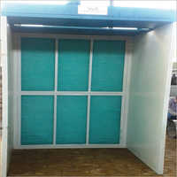 Dry Type Front Open Medium Size Industrial Paint Booth