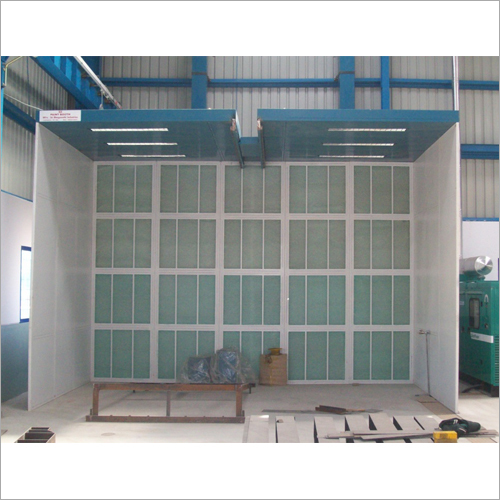 Dry Type Front Open Spray Painting Booth