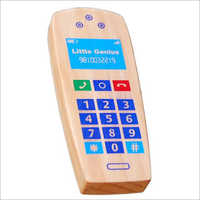 Kids Wooden Mobile Phone