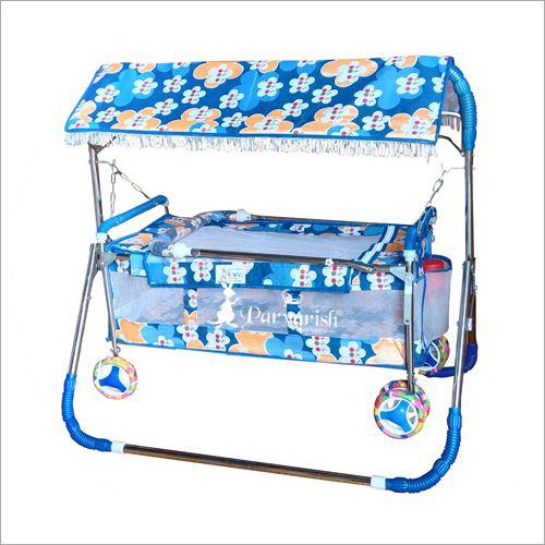 Senior Hood Premium Printed Baby Cradle