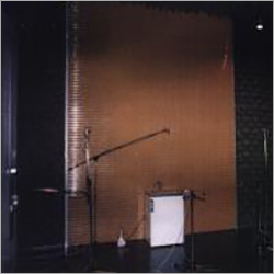 Anechoic Room With Reflecting Shade Investigation On Household Appliance