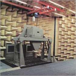 Anechoic Room For Aggregates Andor Exhaust Wedge Type Test Stand