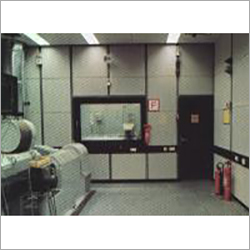 Test Room For Aggregate Test Stand