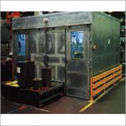 Noise Protection Enclosure For Production Machine