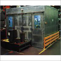 Noise Protection Enclosure For Production Machine