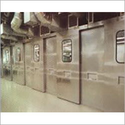 Attenuation Sliding Doors For Test Cells