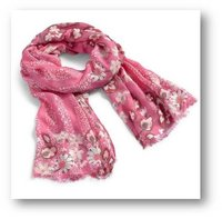 Floral Printed Viscose Scarves