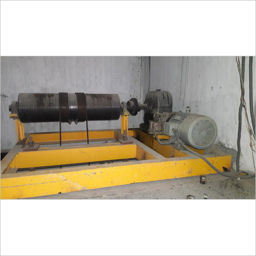 Industrial Drum Elevator Goods Lift Machine