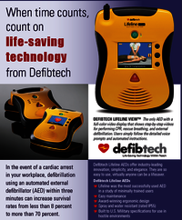 Defibtech Lifeline Semi Automatic AED with 7 Year Battery