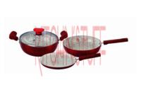 Non Stick Cookware 4 Pcs Set