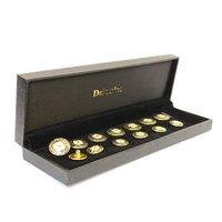 metal brass enamel buttons