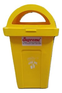 Bauzooka Plastic Dustbin 100Ltr With Lid