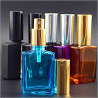 Coated Perfume Glass Bottles
