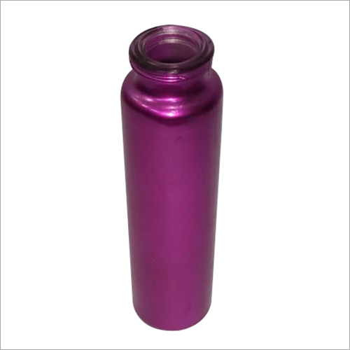 Purple Coated Glass Bottles