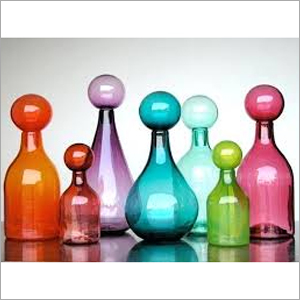 Colored Perfume Glass Bottle