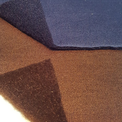 Fleece Foma Knitted Fabrics