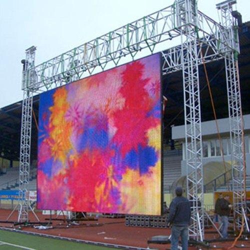 High Brightness Outdoor LED Screen p6mm HD Video Big Advertising LED TV Wall