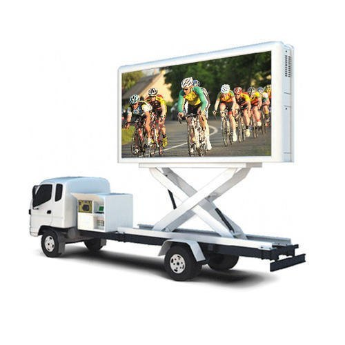 Mobile Advertising Van Truck Trailer-Mobile Show Stage Truck