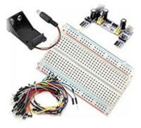 Breadboard Holder and Power Supply