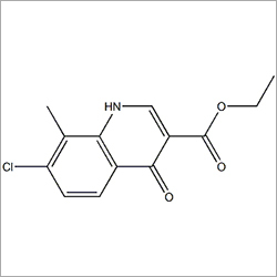 Ethyl 7-Chloro-8-Methyl-4-Oxo-1,4-Dihydroquinoline-3-Carboxylate
