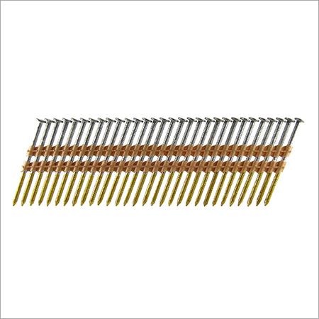 "Galvanized Ring Shank Framing Nails 3-1/4""x0.148"