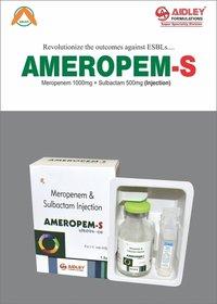 Meropenem 1gm + Sulbactum 500mg Injection
