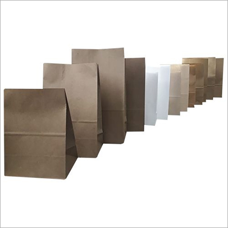 White and Brown Paper Pouches