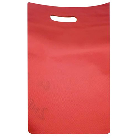 Red Non Woven PP Carry Bags
