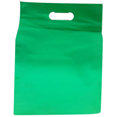 Green  Non Woven PP Carry Bags