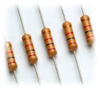 Resistor, High Stability Carbon Film