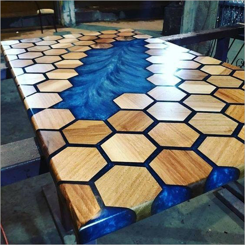 Epoxy Resin Design Table Top
