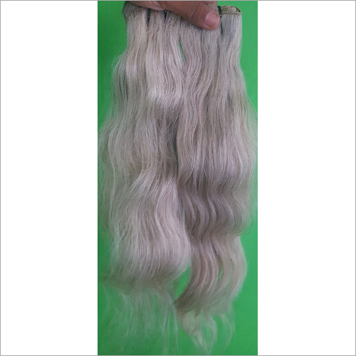 Natural Raw Grey Hair Extensions