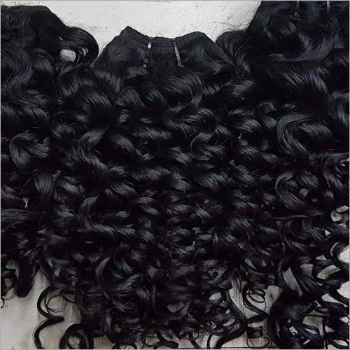 Indian Steamed Curly Hair Extensions