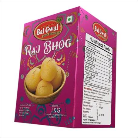 Spongy Rajbhog