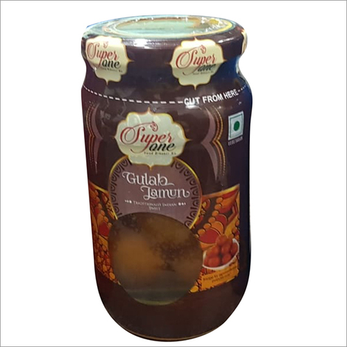 500 gms Glass jar Gulab Jamun