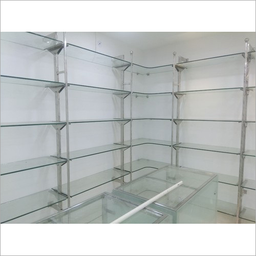 Heavy Duty Glass Display Rack
