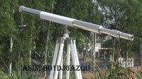 Nauticalmart Chrome with Leather Harbor Master Telescope 60