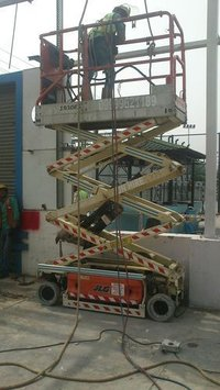 On Hire Scissor Lift
