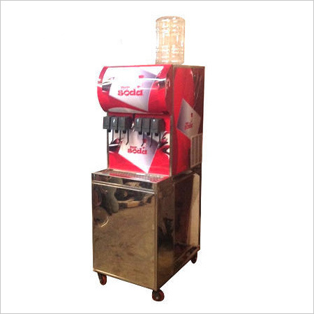 Soda Shop Machine  Double Chiller