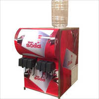 Fountain Soda Shop Machine  Double Chiller