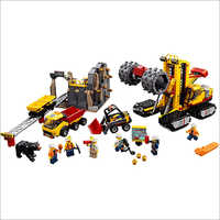 JCB Model Building Toy Set
