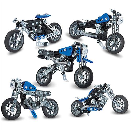 Bike Model Building Toy Set