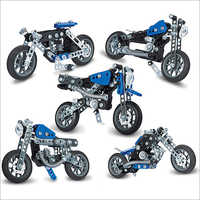 Bike Model Building Toy Set