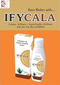 Calamine 8.0% w/w + Liquid Paraffin 10.0% w/w 60ML