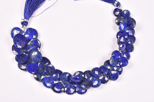Lapis Heart Layout Beads