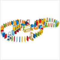 Kids Wooden Trail Building Set