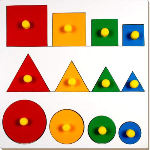 Kids Seriation Concrete Theory Game Board