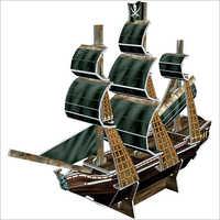 Pirate Ship 3D Puzzle